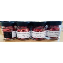 Strawberries freeze dried