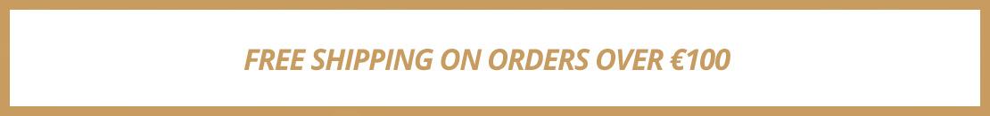 Free shipping over 100 Euros